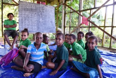 Basisschool voor ziekenhuis kinderen in Kikori